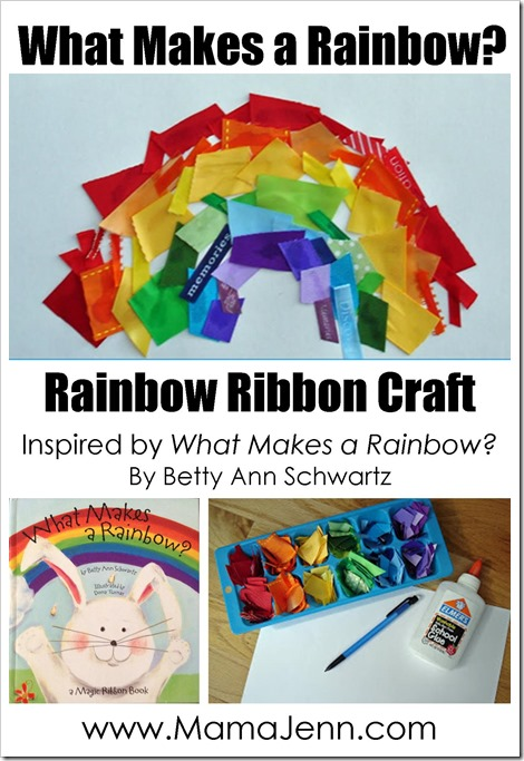 What Makes a Rainbow {Ribbon Craft}