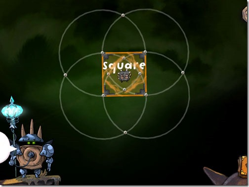 DragonBox Elements Geometry Game Square